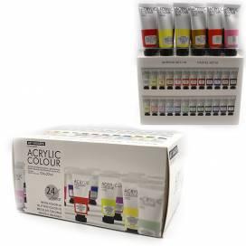 Набор акриловых красок Josef Otten Art range  24цв х22мл пласт. тюб 32KRFEA2422-2