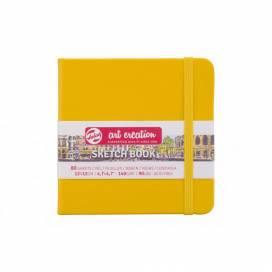 Блокнот Royal Talens Art Creation 12*12см 80листов 140г/м для графики Golden Yellow (записная книжка)