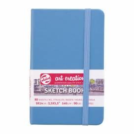 Блокнот Royal Talens Art Creation 9*14см 80листов 140г/м для графики Lake Blue (записная книжка)