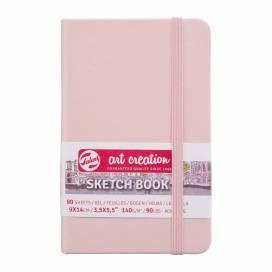 Блокнот Royal Talens Art Creation 9*14см 80листов 140г/м для графики Pastel Pink (записная книжка)