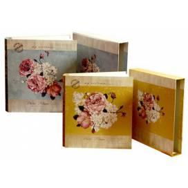 Фотоальбом ТМ Одесса 500 фото 10*15см 6672 в коробке с фольгой  31,5*34,5,см 10058