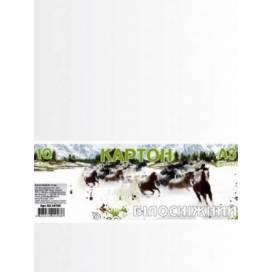 Картон белоснежный Офорт А3 10л п/п пакет КА3010Е