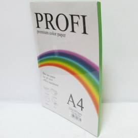 Бумага цв  А4/80 100л PROFI 230 Deep Parrot( насыщ. зелёный)