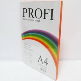 Бумага цв  А4/80 100л PROFI 240 Deep Saffron( насыщ. оранжевый)
