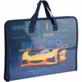 Портфель Kite K20-202 на молнии Fast Cars