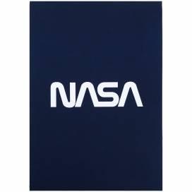 Блокнот Kite А5 50лістов NS21-194-2 Nasa склейка планшет клітинка (записна книжка)