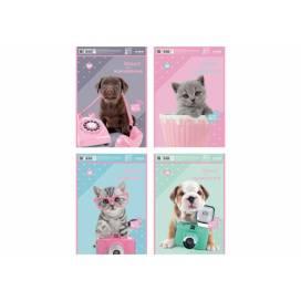 Альбом для рис-я Kite 30л/100 спираль SP21-243-1 Studio Pets софт тач