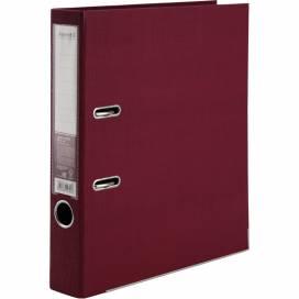 Сегрегатор (накопитель) Axent 50мм Prestige двухсторонний картон. Для бумаги и файлов А4 1721-05C-A бордовый
