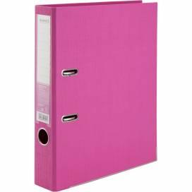 Сегрегатор (накопитель) Axent 50мм Prestige двухсторонний картон. Для бумаги и файлов А4 1721-10C-A розовый