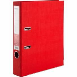 Сегрегатор (накопитель) Axent 50мм Prestige двухсторонний картон. Для бумаги и файлов А4 1721-06C-A красный