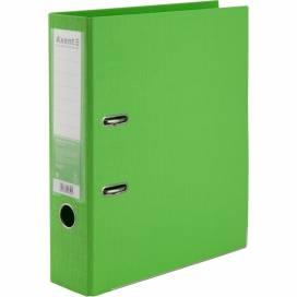 Сегрегатор (накопитель) Axent 75мм Prestige двухсторонний картон. Для бумаги и файлов А4 1722-09C-A салатовый