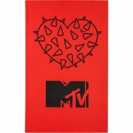 Блокнот Kite B6 80л MTV20-260-2 MTV-2 интеграл обложка клетка