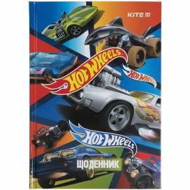 Дневник Kite HW21-262-2 Hot Wheels-2 тверд.обл.