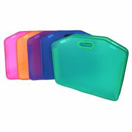 Портфель JosefOtten пластиковый А3 с ручками липучки 53*44 mono 0985