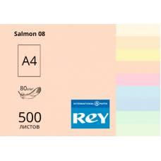 Бумага цв А4/80 500л REY Adagio паст Salmon 08 оранжево-желтый