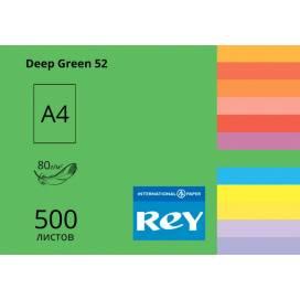 Бумага цв А4/80 500л REY Adagio инт Deep Green 52 темно-зеленый