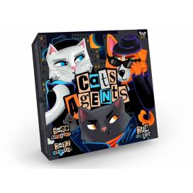 Игра Danko Toys Cats Agents G-CA-01-01 рус (карточная, развивающая)