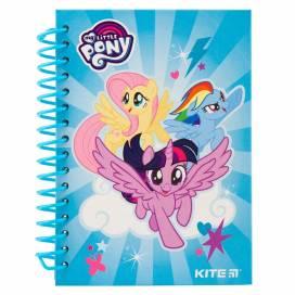 Блокнот Kite А6 80л LP19-222 без лин. Спираль сбоку My Little Pony