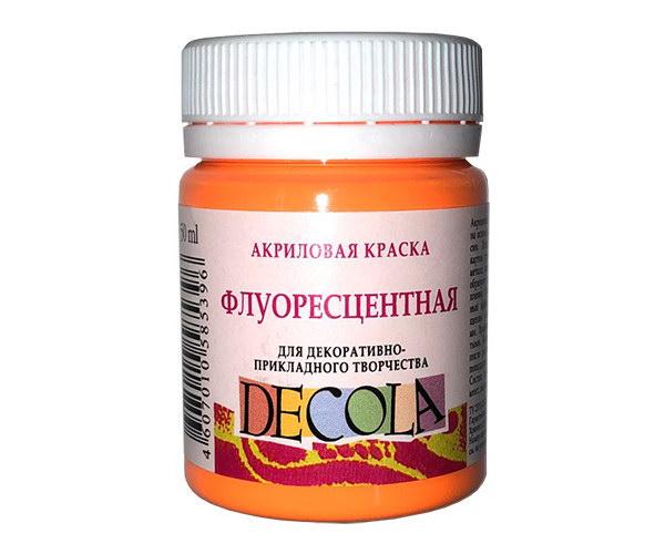 Акриловые краски по ткани Decola купить
